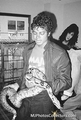 MJ and Snake - michael-jackson photo