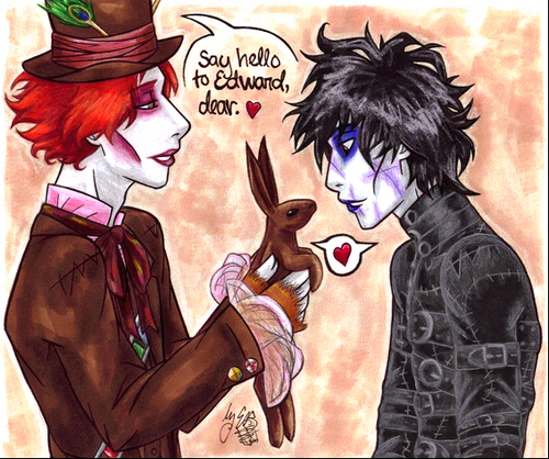 Mad Hatter and Edward