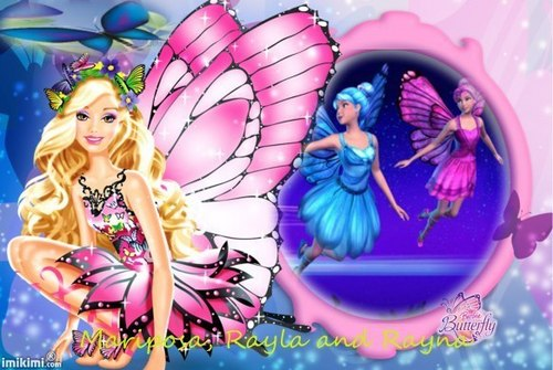 Mariposa, Rayla and Rayna - barbie-movies Fan Art
