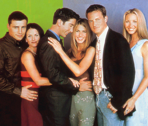 Matt LeBlanc, Courteney Cox, David Schwimmer, Jennifer Aniston, Matthew Perry and Lisa Kudrow