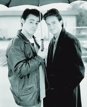 Matt LeBlanc and Matthew Perry