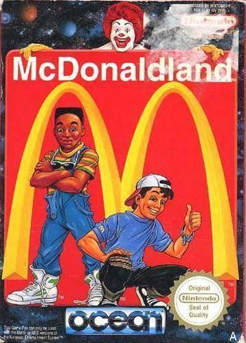 McDonaldland Video Game Cover