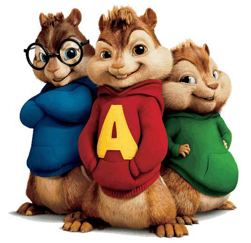 Alvin and the Chipmunks wallpaper titled Meet the Chipmunks!!