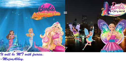 Mermaid tale= Fairy secret? - barbie-movies Fan Art