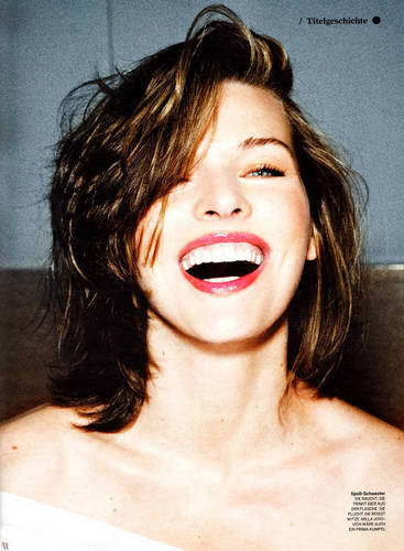Milla in GQ Germany - September 2010