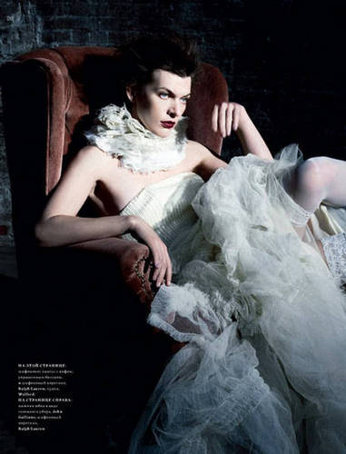 Milla in Harper's Bazaar Russia - September 2009