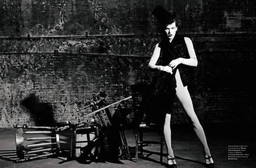 Milla in Harper's Bazaar Russia - September 2009