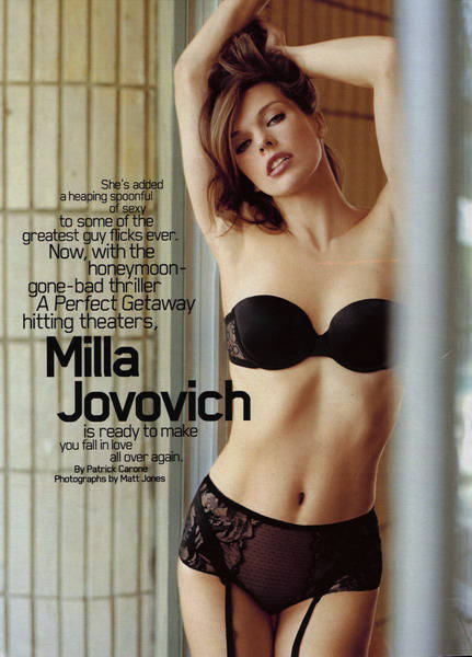 Milla in Maxim - September 2009
