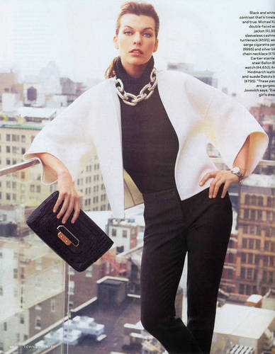 Milla in Town & Country - August 2009