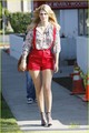 Mischa Barton Stays Cool For The Cameras