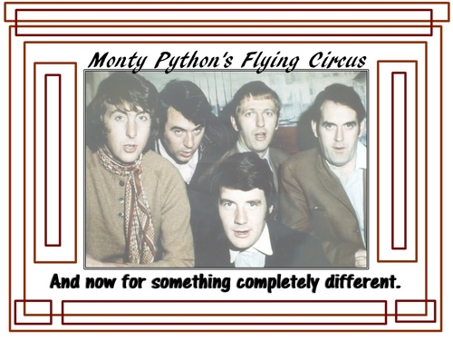 Monty Python wallpaper probably containing a newspaper and anime titled Monty Python's Flying Circus