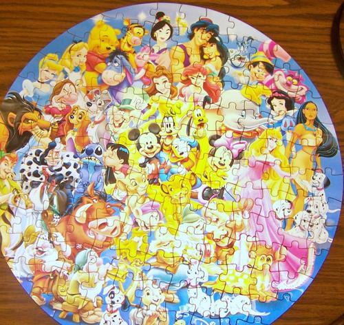 My डिज़्नी Puzzle
