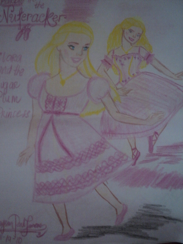 My cousin's artwork! CLARA of Nutcracker