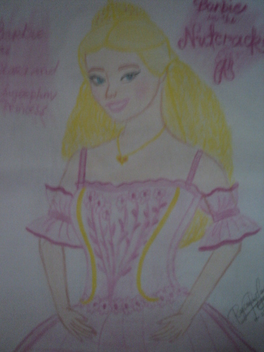 My cousin's artwork! CLARA of Nutcracker - barbie-movies Fan Art