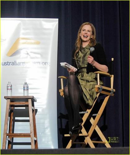 Nicole Kidman: 'Rabbit Hole' Q&A Session with Aaron Eckhart!