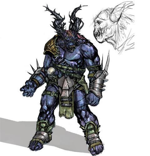 Ogre Concept Art