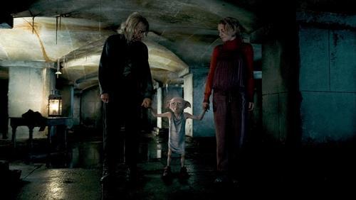 Ollivander, Dobby and Luna