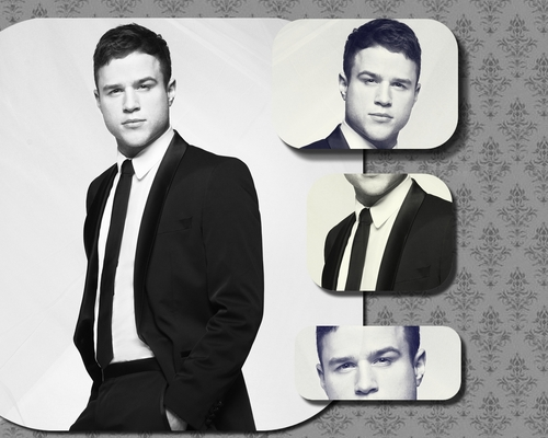 Olly Murs karatasi la kupamba ukuta with a business suit and a suit entitled Olly.:3