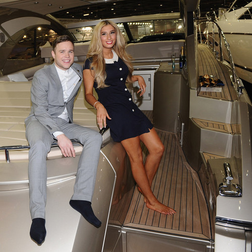 Olly Murs And Stacey Soloman Officially Open The Tullett Prebon London babi, babi hutan