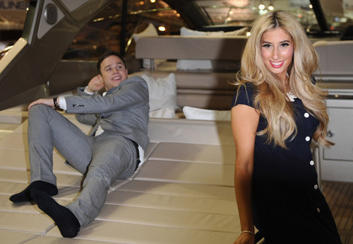 Olly Murs And Stacey Soloman Officially Open The Tullett Prebon Лондон боров, хряк, кабан