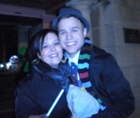 Olly and fans. <3