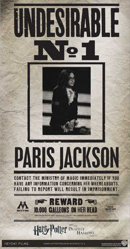 Paris Jackson poster