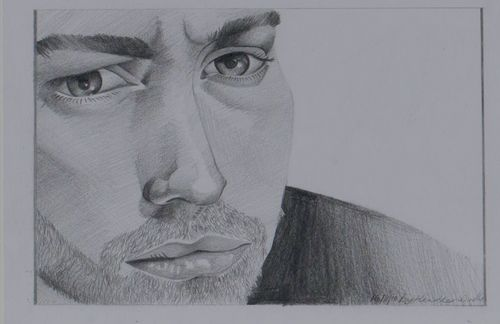 Pencil sketch-Jude Law