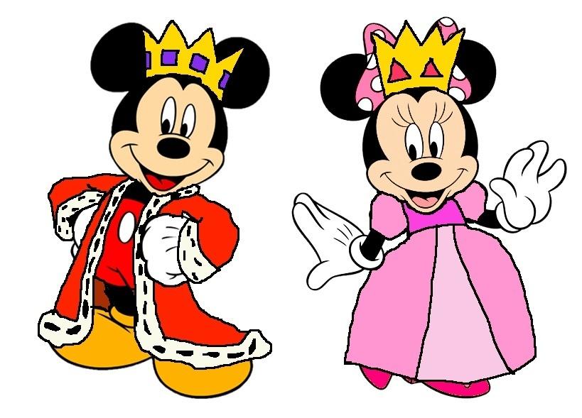 Prince Mickey and Princess Minnie - 伪装