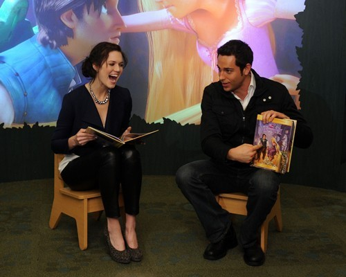 "Promoting ""Tangled"" at the Disney Store - November 19, 2010"