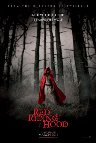 RED RIDING capuz, capa poster