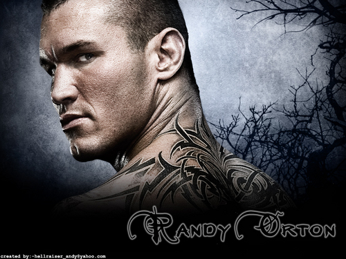 Professional Wrestling wallpaper with anime entitled Randy Orton