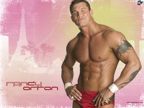 Professional Wrestling wallpaper with a hunk and a six pack titled Randy Orton