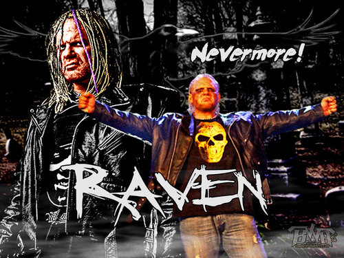 Professional Wrestling wallpaper possibly with anime entitled Raven