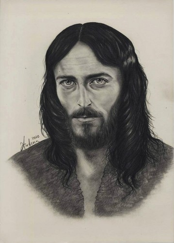 Robert Powell portrait in Hesus of Nazareth