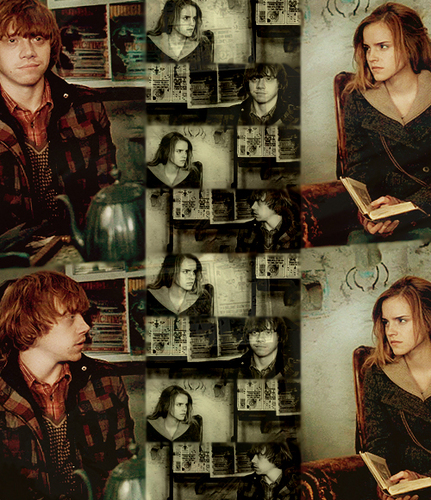 Ron & Hermione- DH