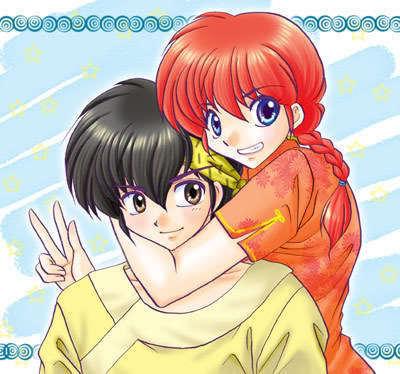 Ryoga Hibiki & Ranma Saotome
