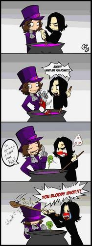 Severus snape comic