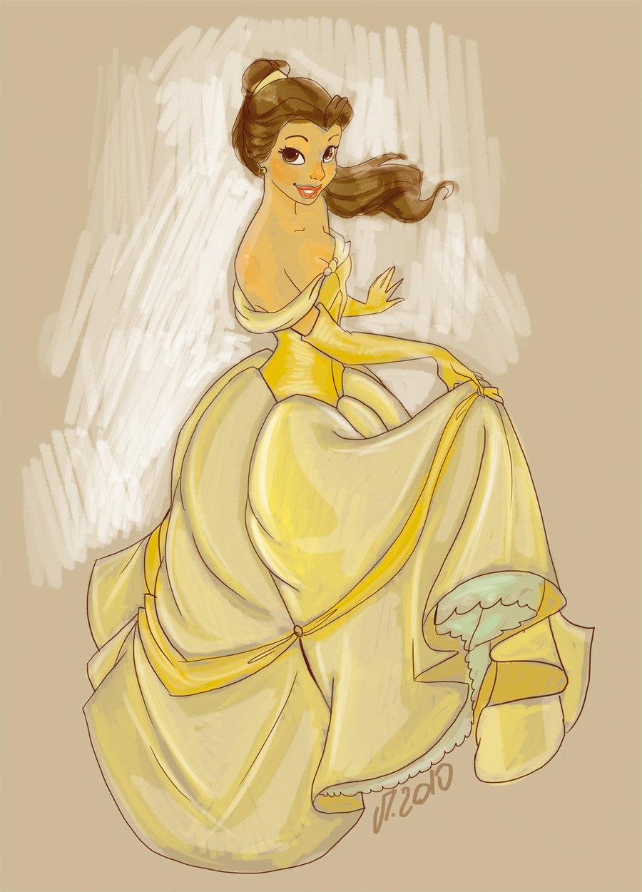 Simple Belle Sketch in...