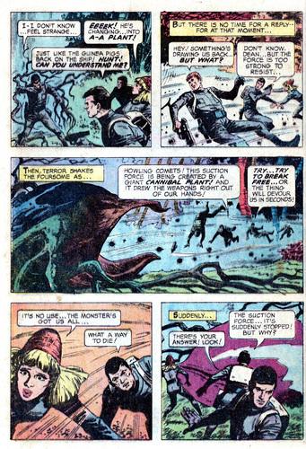سٹار, ستارہ Trek سونا Key Comic #01: The Planet of No Return