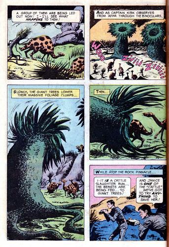 星, 星级 Trek 金牌 Key Comic #01: The Planet of No Return