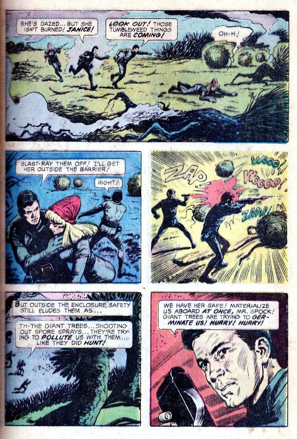 bintang Trek emas Key Comic #01: The Planet of No Return