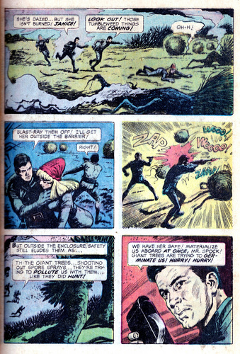 তারকা Trek স্বর্ণ Key Comic #01: The Planet of No Return