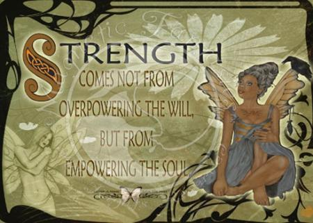Strength - teddybear64 Fan Art