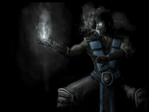 Mortal Kombat Wallpaper Probably With A Breastplate Called Sub Zero Final