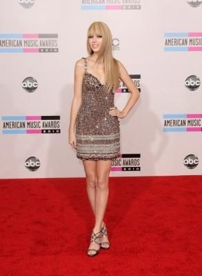 Taylor pantas, swift American Muzik Awards 2010