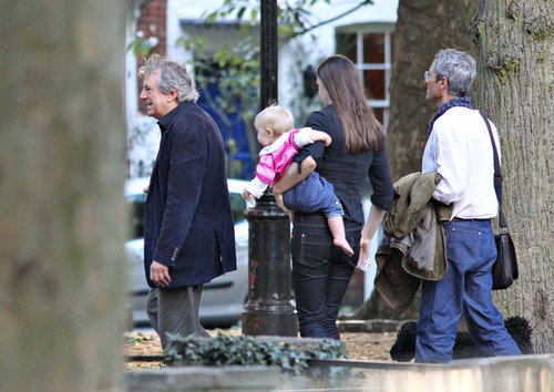 Terry Jones and Family Out and About