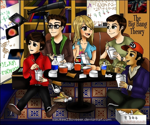 The Big Bang Theory sa pamamagitan ng sasukee23loveeer at DeviantART