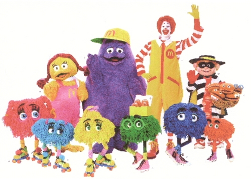 The Entire McDonaldland Gang