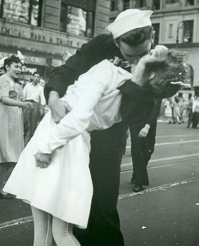 The Famous Sailor Kissing Nurse