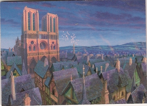 The Hunchback of Notre Dame wallpaper probably containing a business district called The Hunchback of Notre Dame